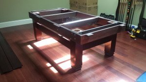 Correctly performing pool table installations, Baltimore Maryland