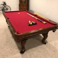8ft Olhausen Eclipse Pool Table