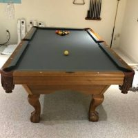 Pool Table - Brunswick 8' with Accessories