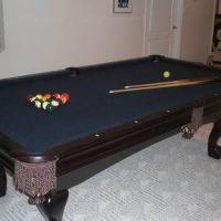 7' Brunswick Contender Pool Table Set