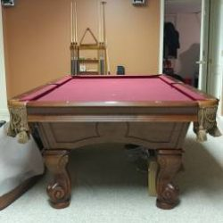 Beringer Billiards Table