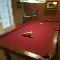 Excellen Condition!! 8' Italian Slate Pool Table