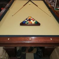 8ft. Pool Table with ALL Accesories