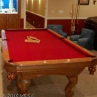 8' Proline Billiards Table For Sale